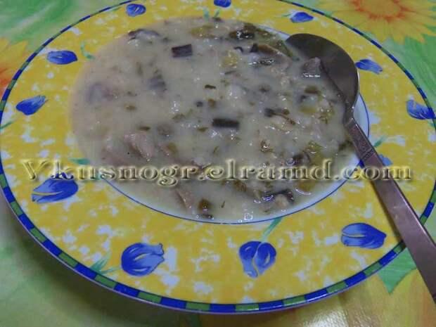 Греческий пасхальный суп магирица