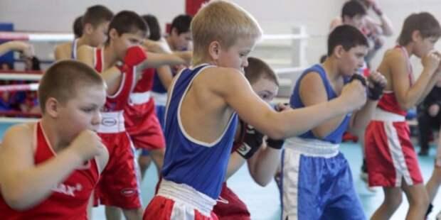 Бесплатная секция бокса открылась для детей на улице Сальвадора Альенде