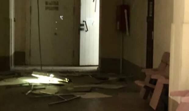 В историческом корпусе ЮФУ в Ростове-на-Дону рухнул потолок