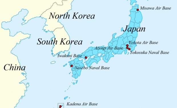СМИ: США иЯпония договорились повоенным базам