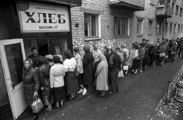 Дефицит и иностранщина как причины краха СССР