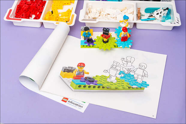 Как обеспечить научный подход? Фотообзор нового конструкторского решения lego® Education BricQ Motion 45401