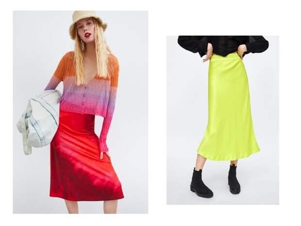 Без чего весна — не весна: атласная юбка (фото 9)