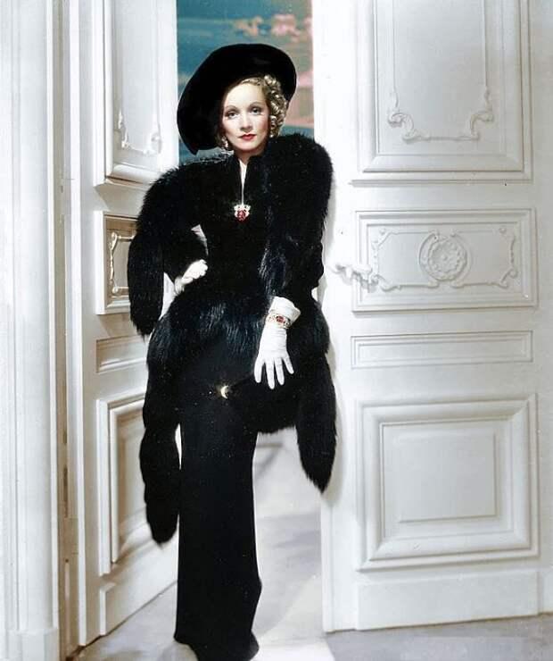 Марлен Дитрих. / Фото: www.pinimg.com