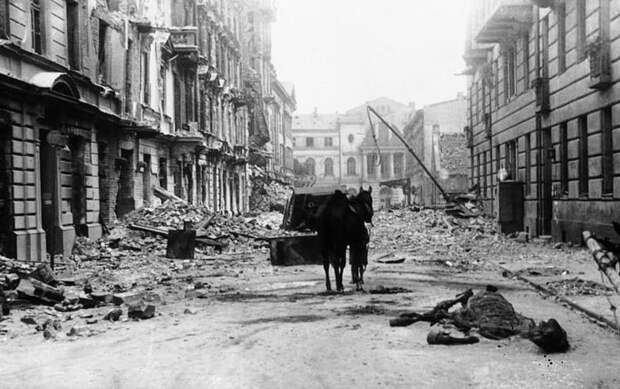 Польская кавалерия против немецких танков война, страшно, фото