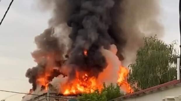 ВТатарстане загорелся бесхозный объект культурного наследия
