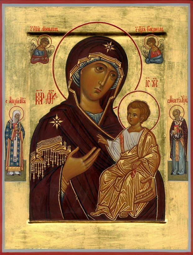Иверская икона Божией Матери (Заступница Небесная)