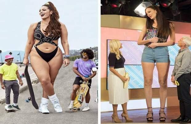 9 девушек-гигантов, при виде которых кажется, что так не может быть