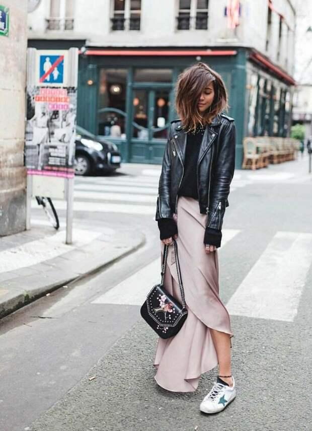 Контрасты в образе: приём, с помощью которого можно легко сочетать любую вещь в вашем гардеробе более стильно и современно!