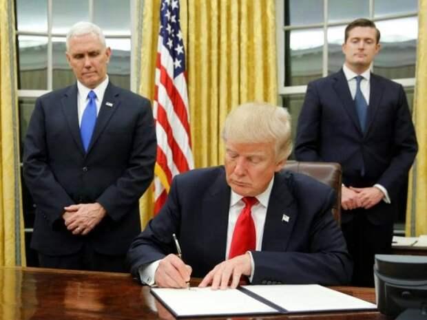 Трамп указ США санкции