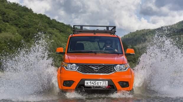 УАЗ «Патриот» с бензиновым двигателем V8 появится на рынке США