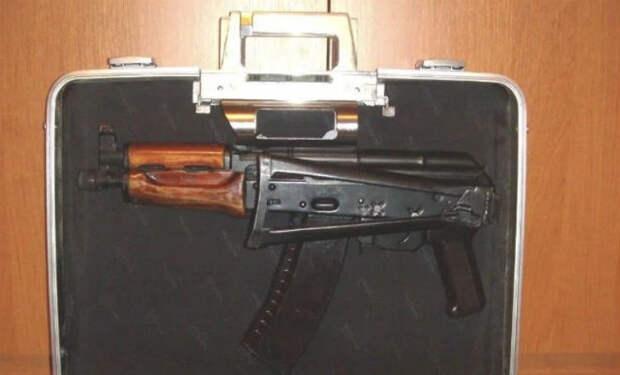 Автомат агента КГБ: спрятан в чемодане