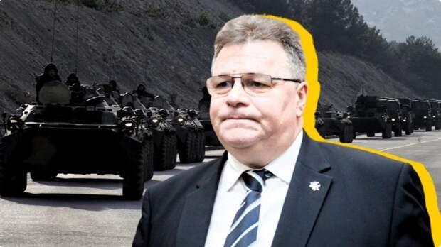 Глава МИД Литвы Линас Линкявичюс заявил о вторжении российских войск в Белоруссию