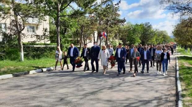 В Белогорском районе уже начались праздничные мероприятия, посвященные Дню Победы