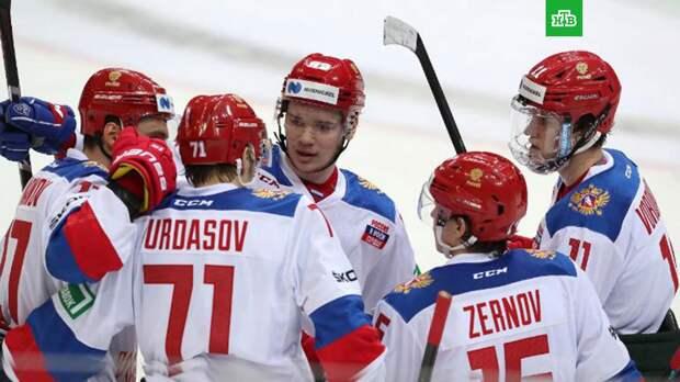 Российские хоккеисты одолели шведов в матче Евротура