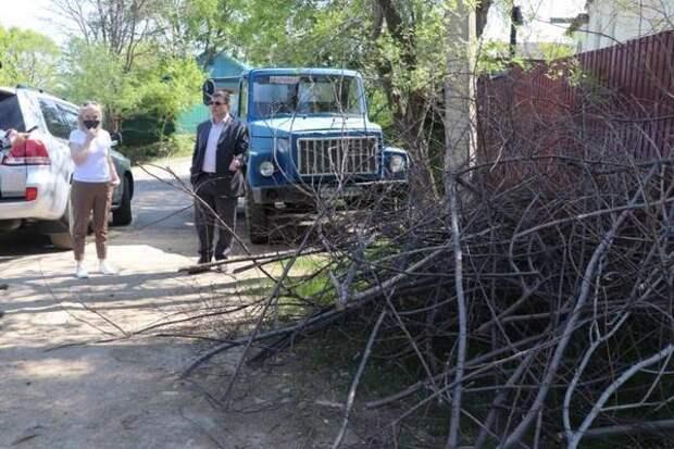 В одном из микрорайонов Уссурийска за сезон заасфальтируют около трех километров дорог