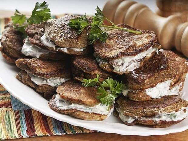 Печёночники. Вкусные печёночные оладьи