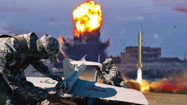 ВВС Израиля нанесли удары по домам командиров ХАМАС в секторе Газа