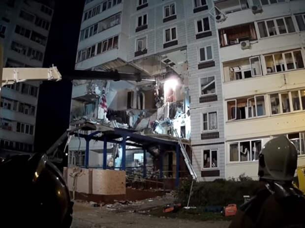 Во взорванном доме в Ногинске застряла домашняя кошка: спасать опасно