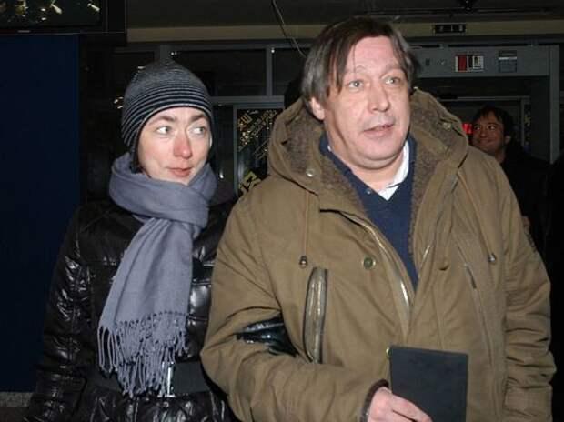Жена Михаила Ефремова: