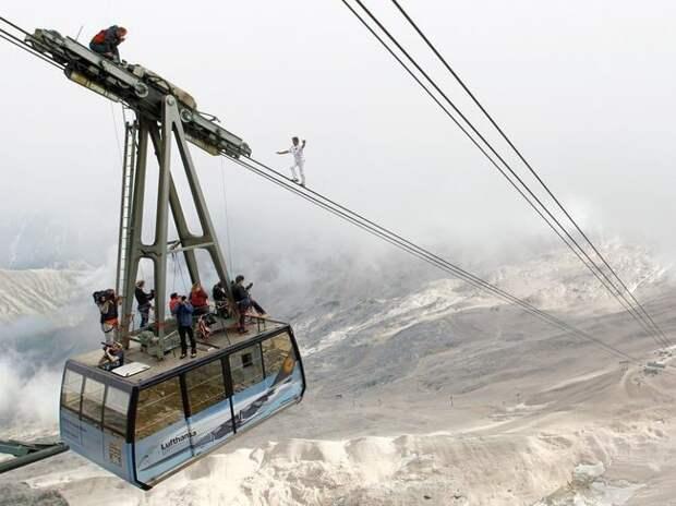 На вершине Цугшпитце, Германия жизнь, интересные, фото