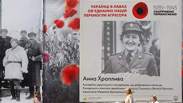 Герои УПА, США и Канады: в Cети появились фото украшенного ко Дню Победы Киева