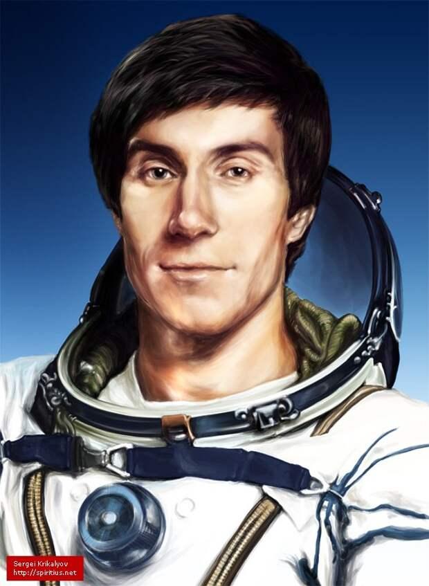 """О советском космонавте, ставшем """"робинзоном"""", починившем американский Шаттл и попавшем в кино."""