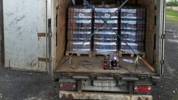 Больше 12тыс бутылок опасного пива задержали натрассе вРостовской области