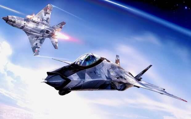 Новейший истребитель ВВС России будет сбивать спутники в космосе