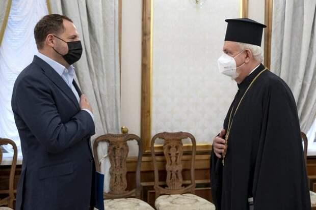 Зеленский приветствовал религиозную оккупацию Украины