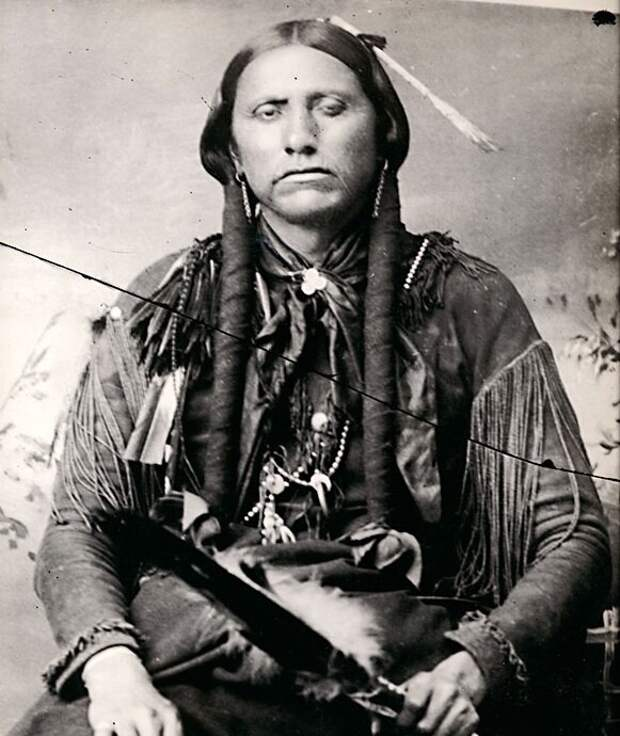 Куана Паркер - вождь из племени команчей