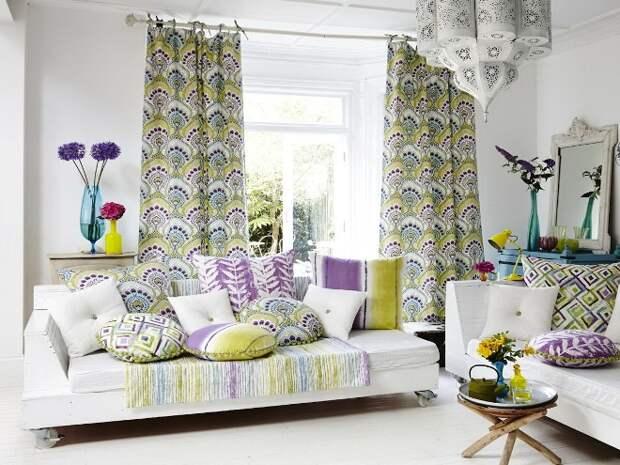 Модные шторы в интерьере современной квартиры (70 фото)