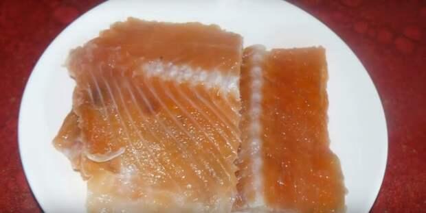хребты лосося блюда