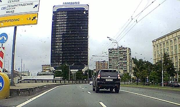 Со здания Гидропроекта снят экран