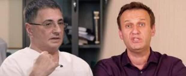 Хотели бы – ты бы сдох»: теледоктор Мясников обрушился на Алексея Навального