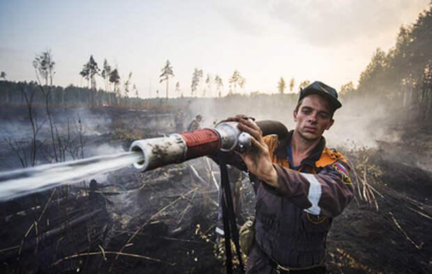 Природные пожары подобрались к Тюмени и Красноярску