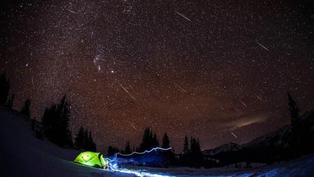 Астрологи рассказали, когда можно будет увидеть звездопады Лириды и Аквариды
