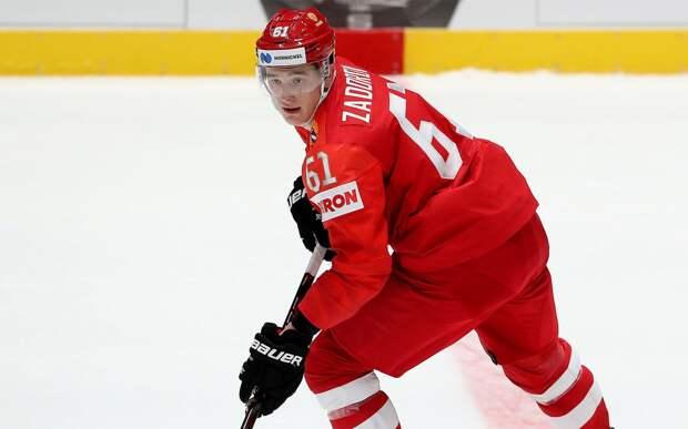 Официально: Задоров выступит за сборную России на чемпионате мира в Риге