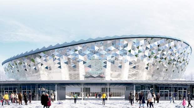 В Новосибирске строят новую арену, похожую на олимпийский стадион в Сочи. Мы проверили: не мешает даже коронавирус