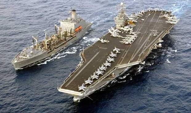 Sohu: флот РФ нанесет фатальный удар по США, если потопит американские авианосцы