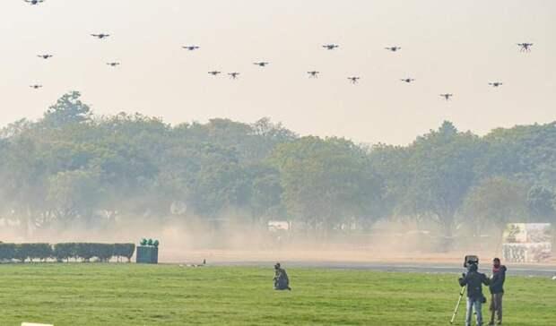 """В Индии показали дроны, которые """"изменят ход привычной войны"""""""