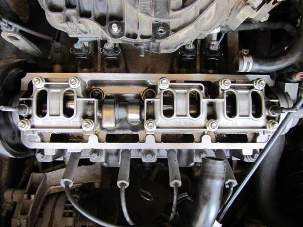 состояние двигателя внутри при эксплуатации на синтетике