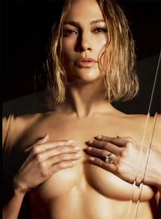 Дженнифер Лопес снялась полностью обнаженной для анонса новой песни