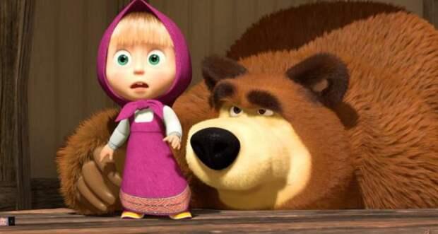 Угадайте, почему мультфильм «Маша и Медведь» популярен в мусульманских странах