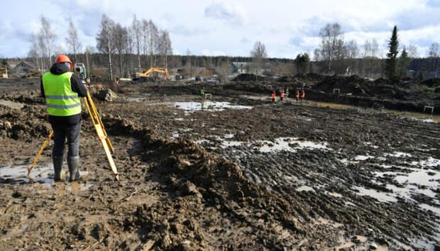 В Деревянке строится новая школа