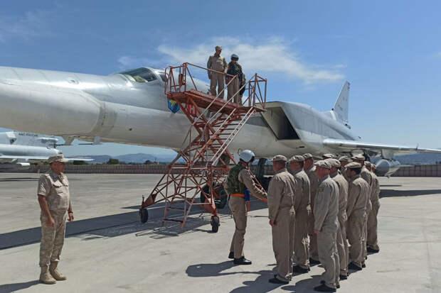 Дальние бомбардировщики отправлены в Сирию для выполнения особой задачи