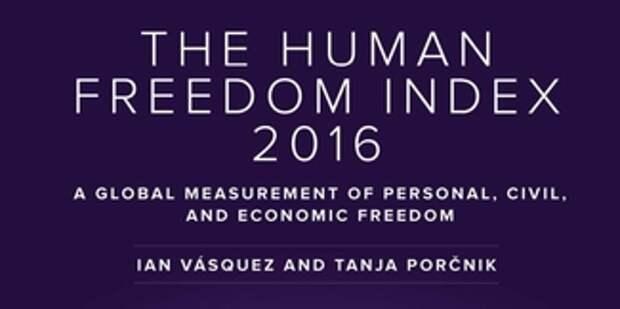 Россия отстаёт от большинства республик бывшего СССР по Индексу человеческой свободы