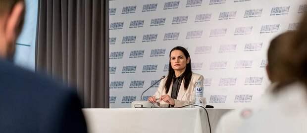 Тихановская призывает Запад ввести санкции против руководителей школ и больниц