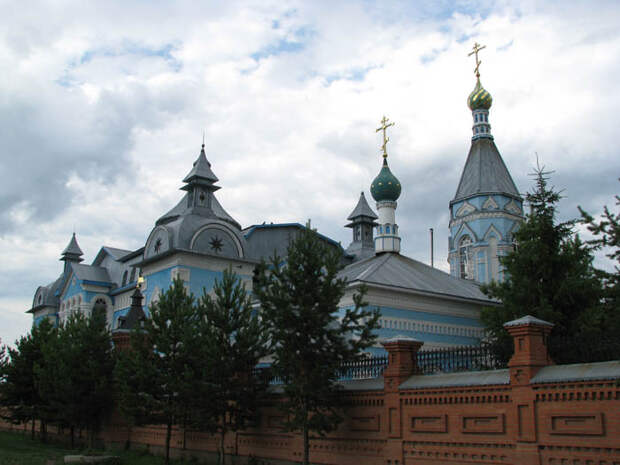1946 - церковь Симеона Верхотурского -  Саракташ - Оренбургская обл