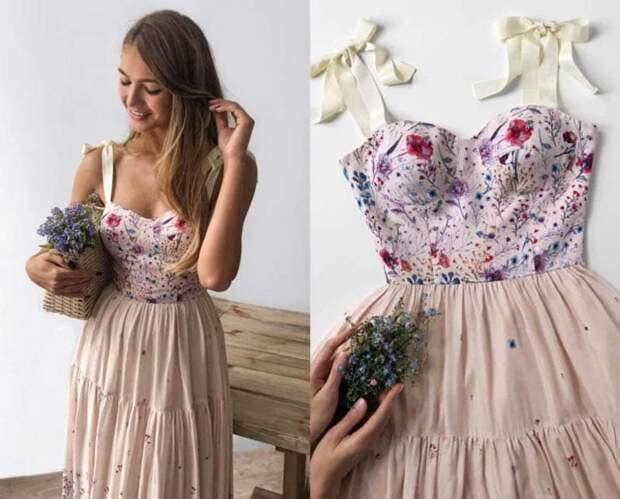 20 супер женственных корсетных платьев: очень красиво, нежно и элегантно